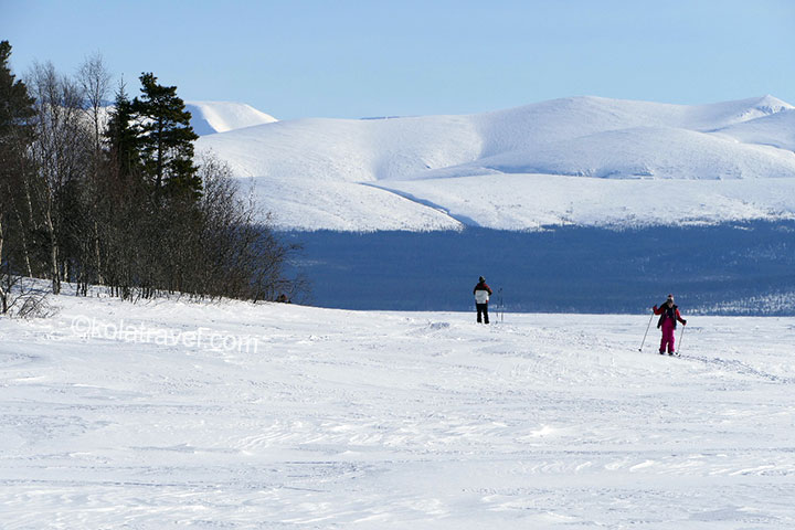 kola peninsula, monchegorsk, mountains, cross country skiing, cross-country, skiing, skiing tour, murmansk, russia